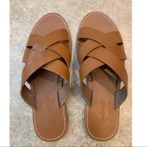 Madewell Boardwalk Sandals size 8.5